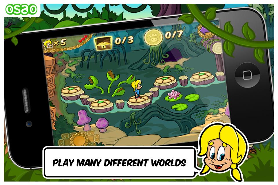 Screenshot Pixeline and the Jungle Treasure FREE